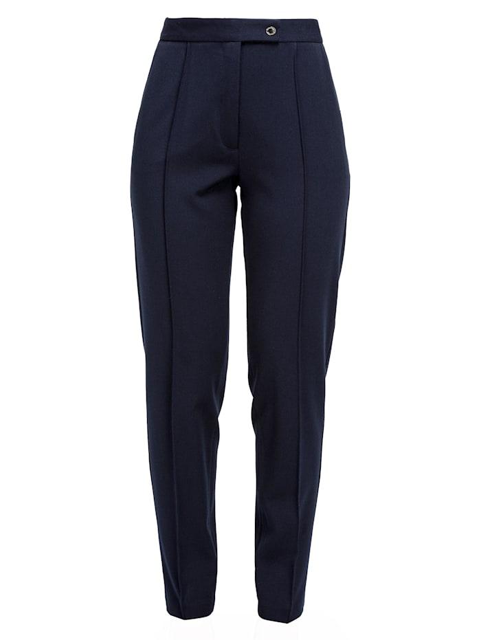 helmidge - Stoffhose Pants  dunkel blau