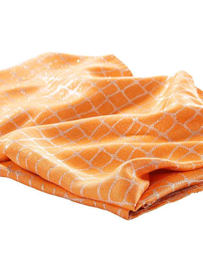 Sjaal KLiNGEL oranje