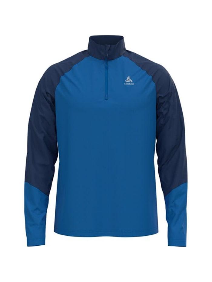 odlo -  Sweatshirt Planches Zip Longsleeve  Blau