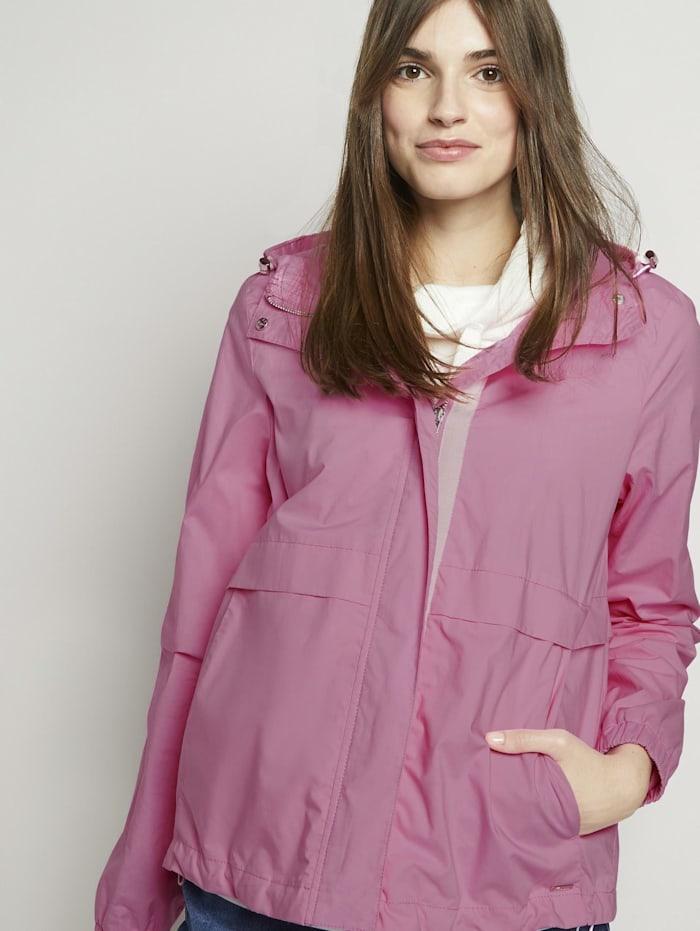 tom tailor denim - Windbreaker mit Kapuze  bright pink
