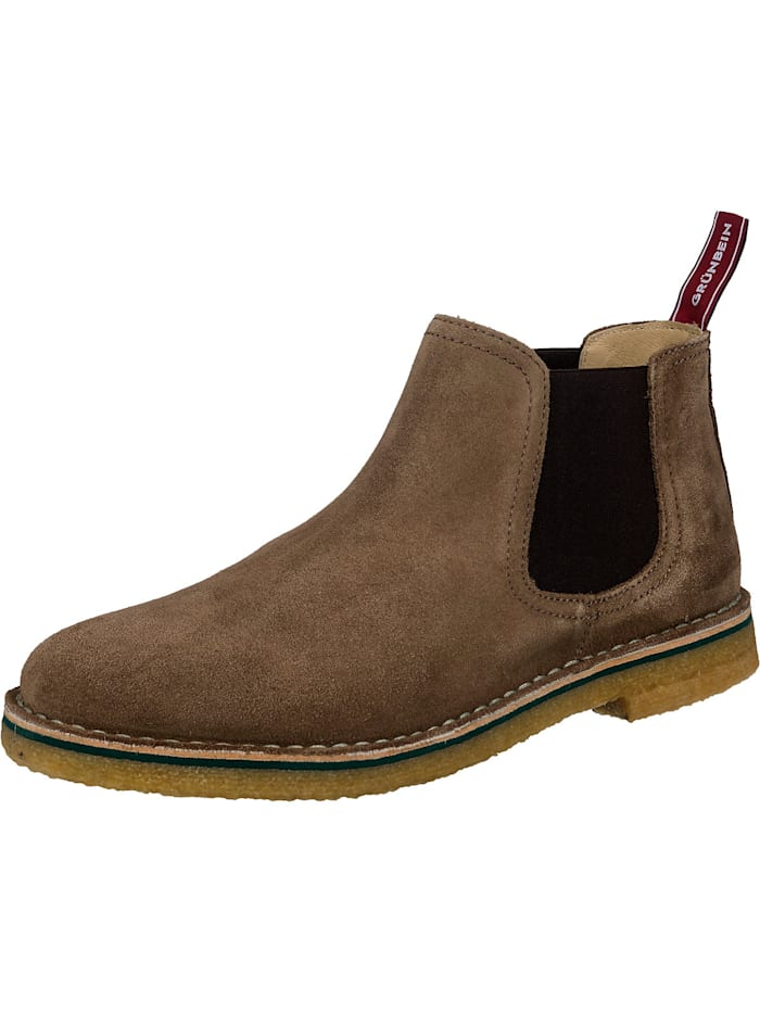 grünbein - Reto Chelsea Boots  taupe