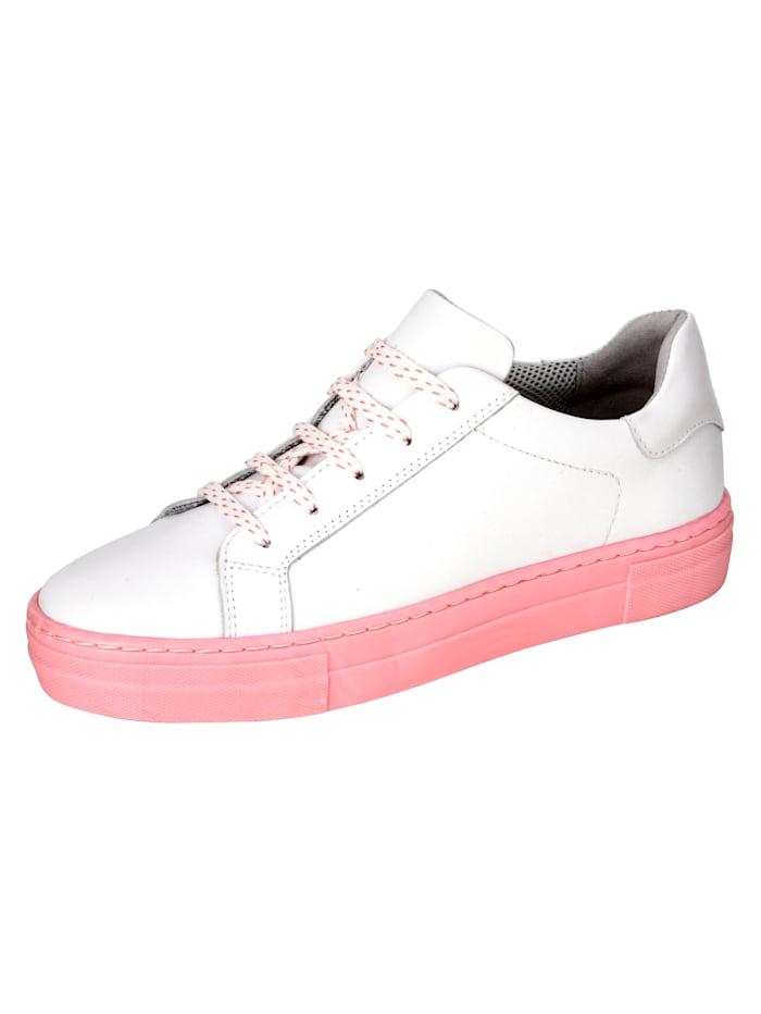 Sneaker Liva Loop Wit::Roze