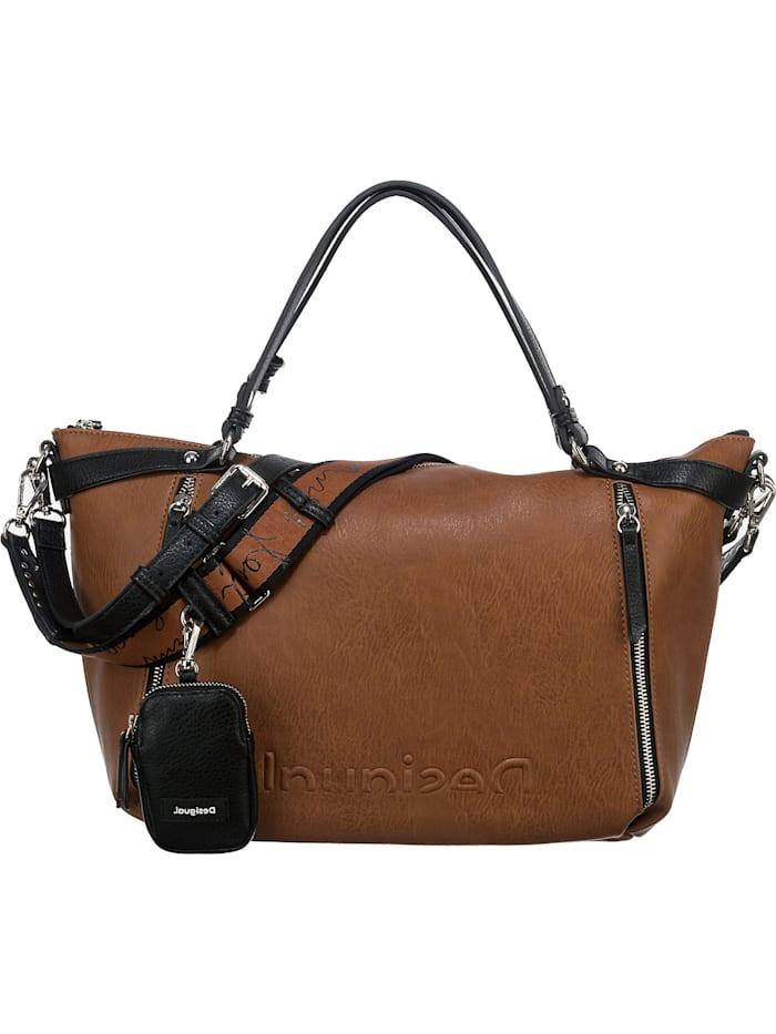 desigual - Pu Hand Bag Handtasche  beige