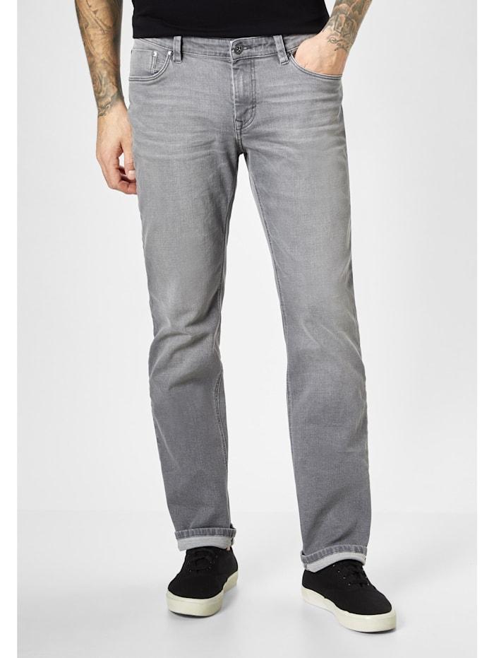paddock's - 5-Pocket Hose Motion & Comfort BEN  grey moustache use
