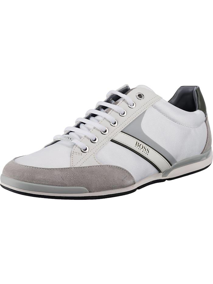 boss - Modern Saturn Sneakers Low  weiß/grau