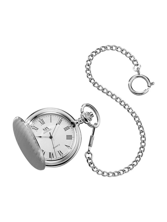 meister anker - Taschenuhr  Silberfarben