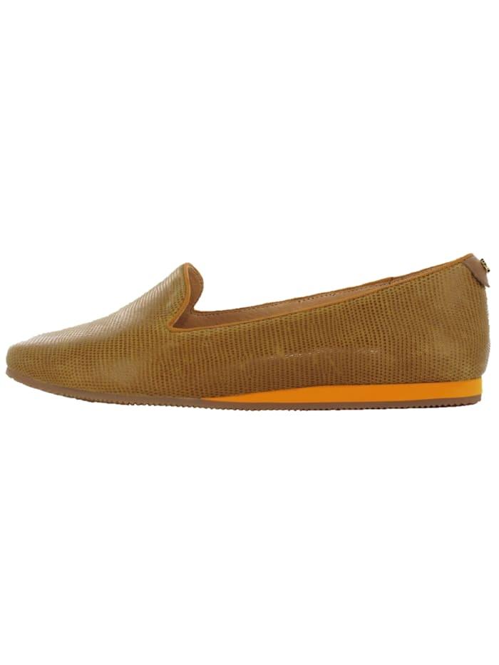 flip flop - Slipper Coffee Leather  braun