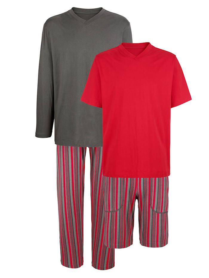 Pyjama's BABISTA Grijs::Rood