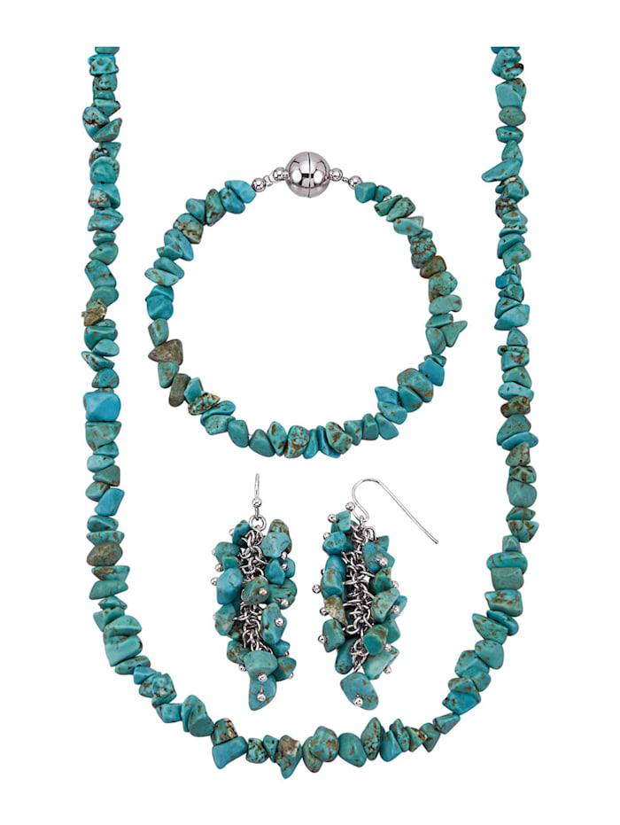 3-delige sieradenset KLiNGEL Turquoise