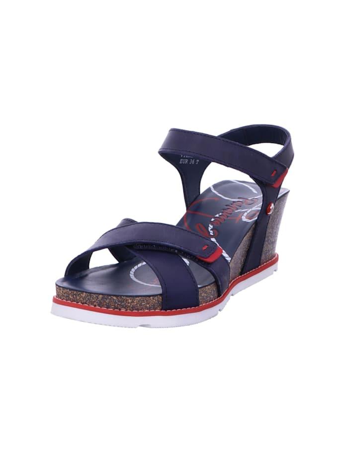 panama jack - Sandalen/Sandaletten  blau