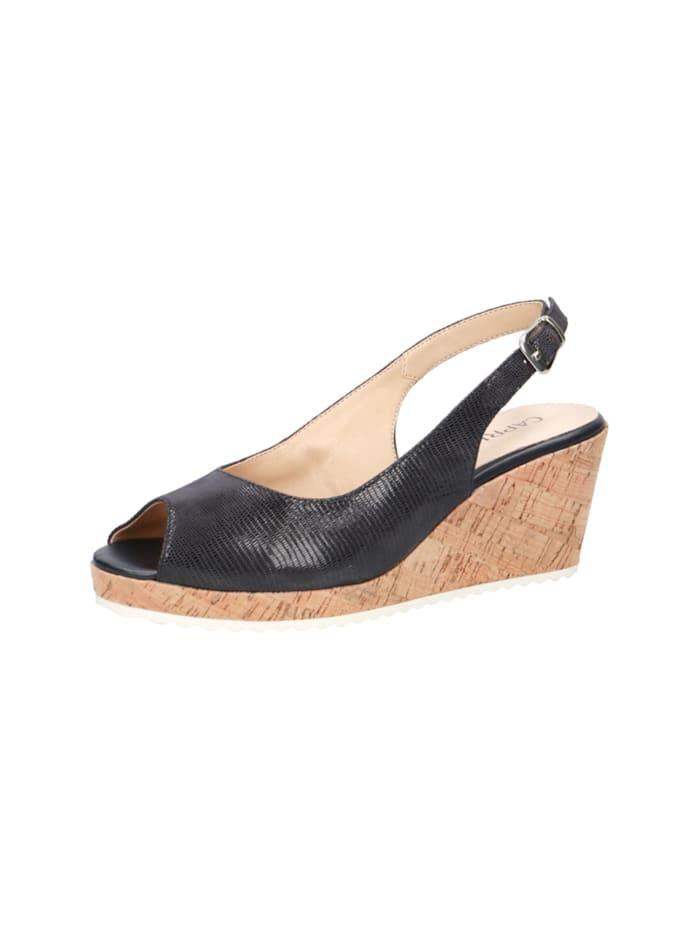 caprice - Sandalen/Sandaletten  blau