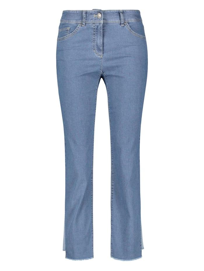 gerry weber - 5-Pocket Hose Best4me Flare  Blau Denim