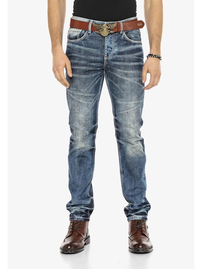 cipo & baxx - Jeans in Regular Fit  Blue