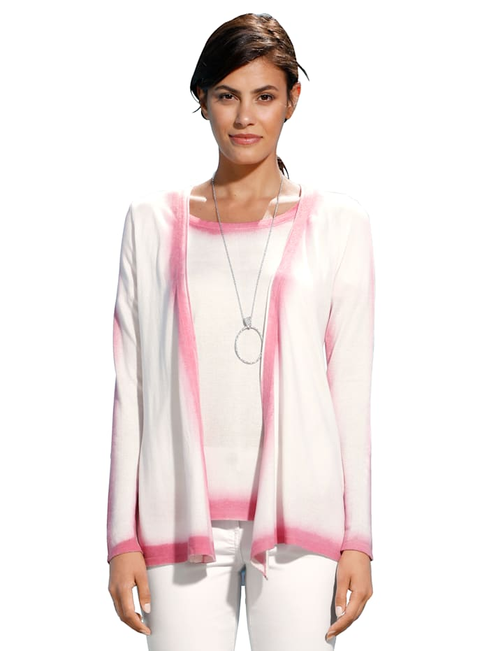 Vest AMY VERMONT Offwhite::Pink