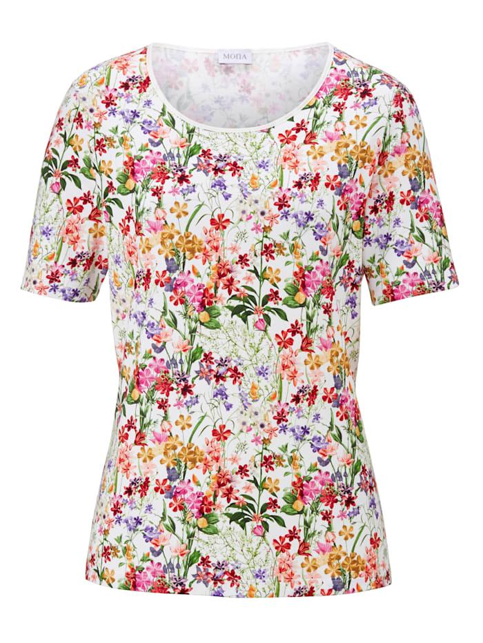 Shirt MONA Wit::Rood::Groen