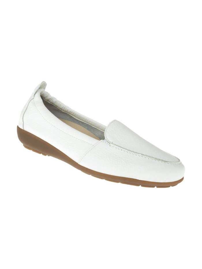natural feet - Mokassin Marie  Weiß