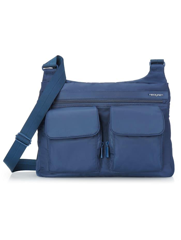 hedgren - Inner City Prarie Umhängetasche RFID 30 cm  dress blue