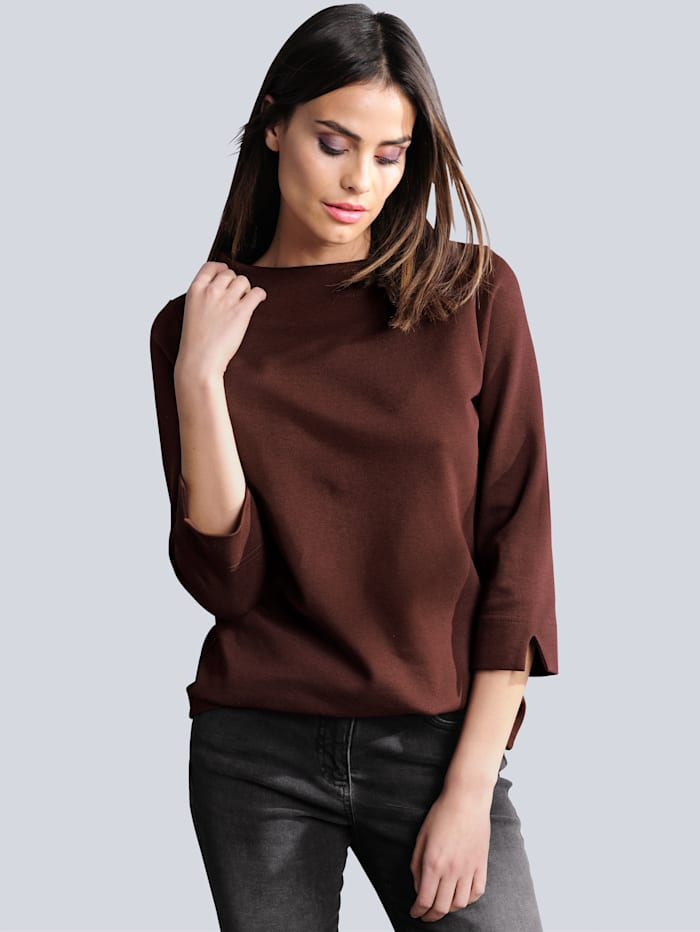 Shirt Alba Moda Bordeaux