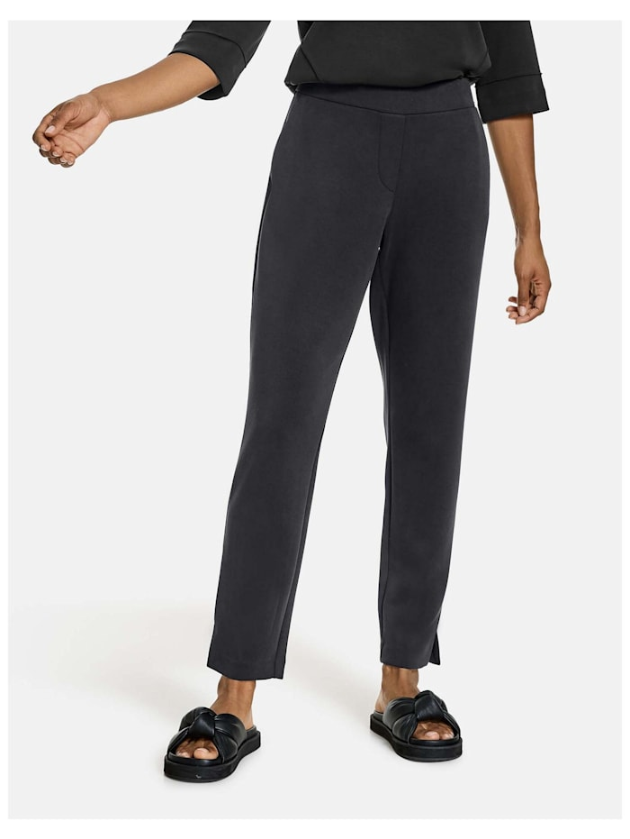 taifun - 7/ 8 Hose aus softer Stretch-Qualität  Black
