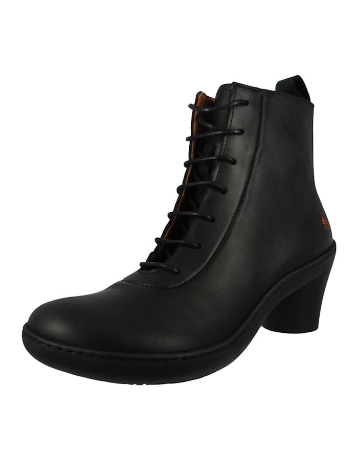 *art - Leder Stiefelette Ankle Boot Alfma Black Schwarz 1444  Black