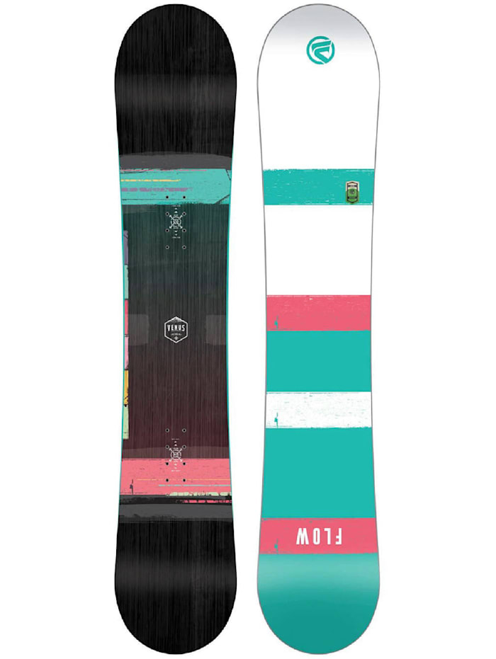 Image of Flow Snowboard Board Venus Black 2015 Flow Multicolor