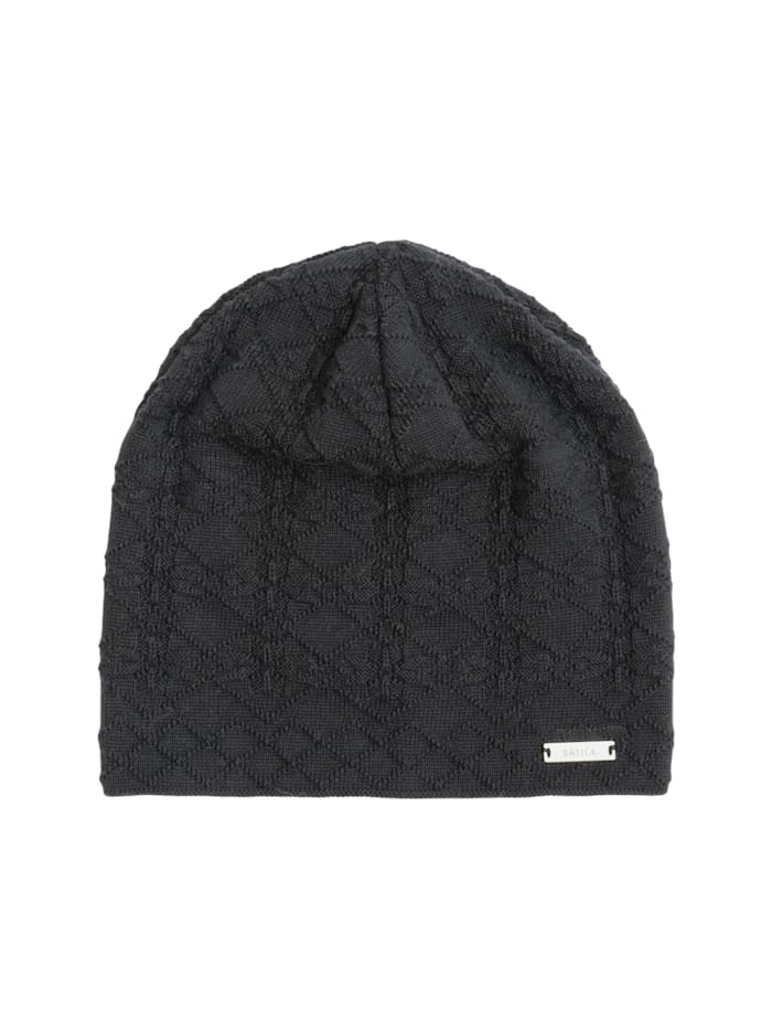 sätila of sweden - Beanie Anna mit Schneeflockenmuster  light grey