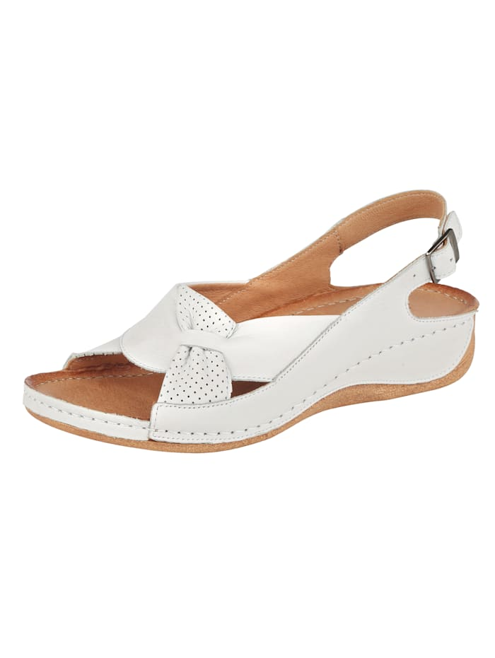 Sandaaltje Naturläufer Wit