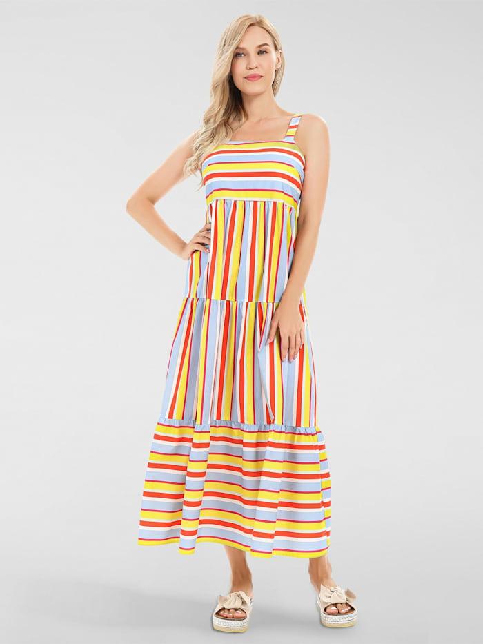 apart - Sommerkleid gestreift  multicolor