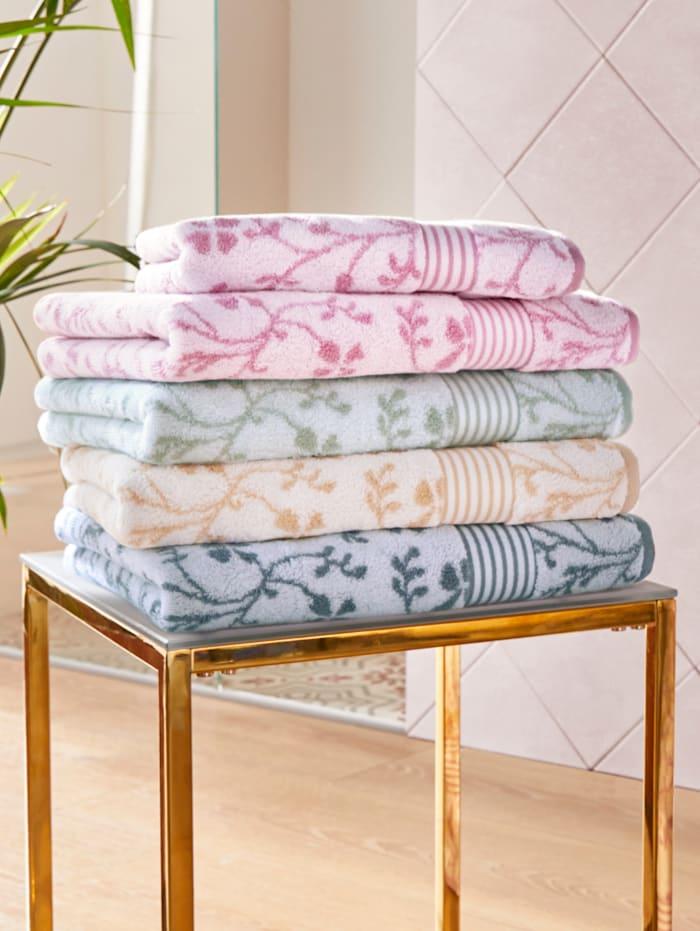 Handdoeken Vintage Kleinmann grijs