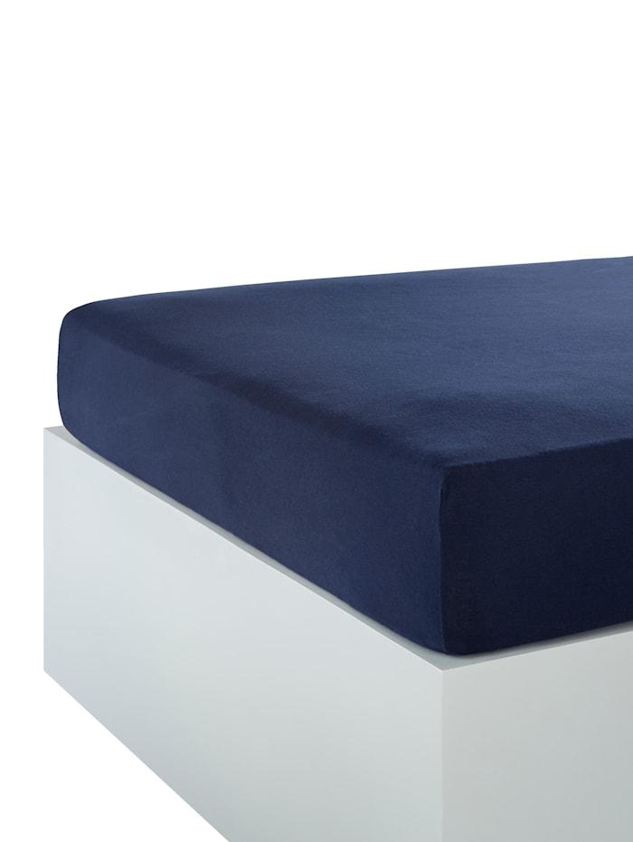 Hoeslaken Webschatz royal blue