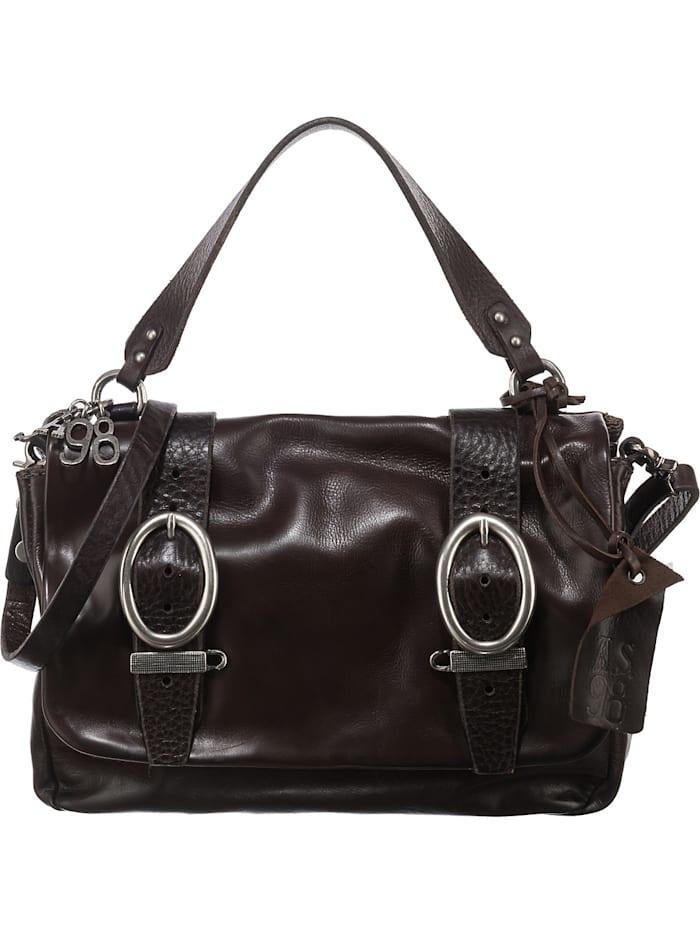 a.s.98 - Handtasche  dunkelbraun