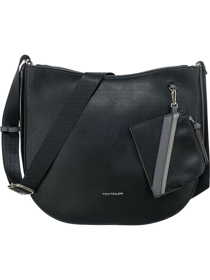 tom tailor - Isabel Cross Bag L Handtasche  schwarz-kombi