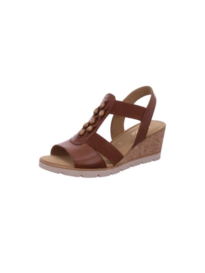 gabor - Sandalen/Sandaletten  braun