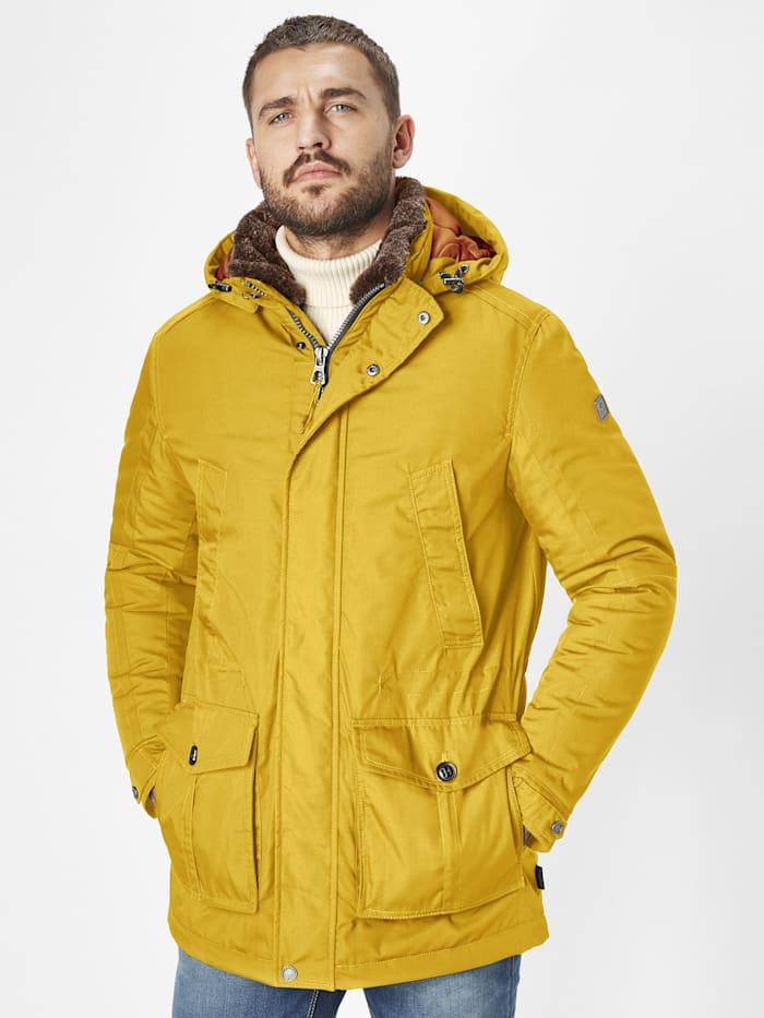redpoint - warme Winterjacke Eric  yellow