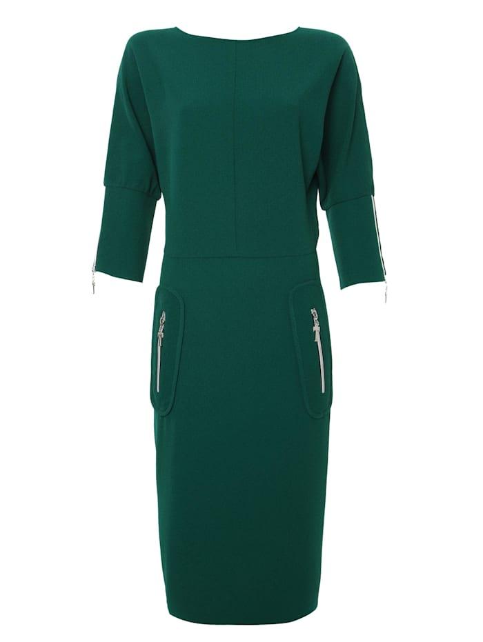 madam-t - Alltagskleid Kleid Faustina  smaragdgrün