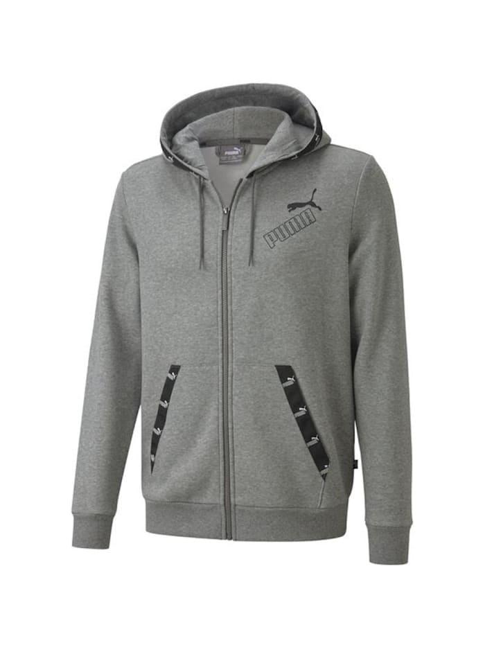 puma -  Hoodie AMPLIFIED FZ  Grau
