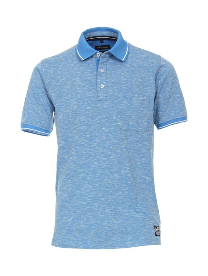 casamoda - Polo-Shirt uni  Hellblau