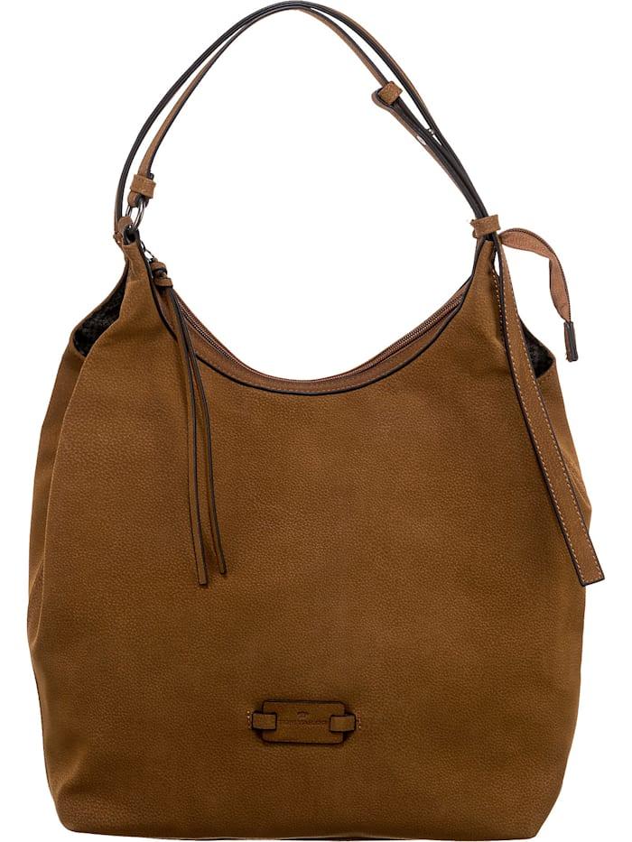 tom tailor - Yarina Hobo Bag Handtasche  cognac