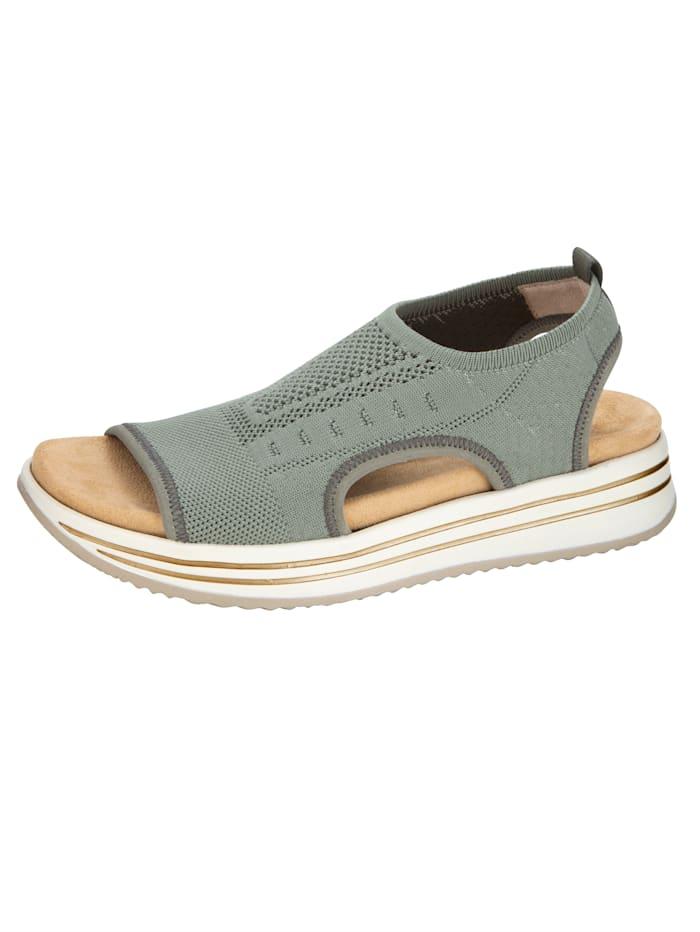 Sandaaltje Remonte Olijf