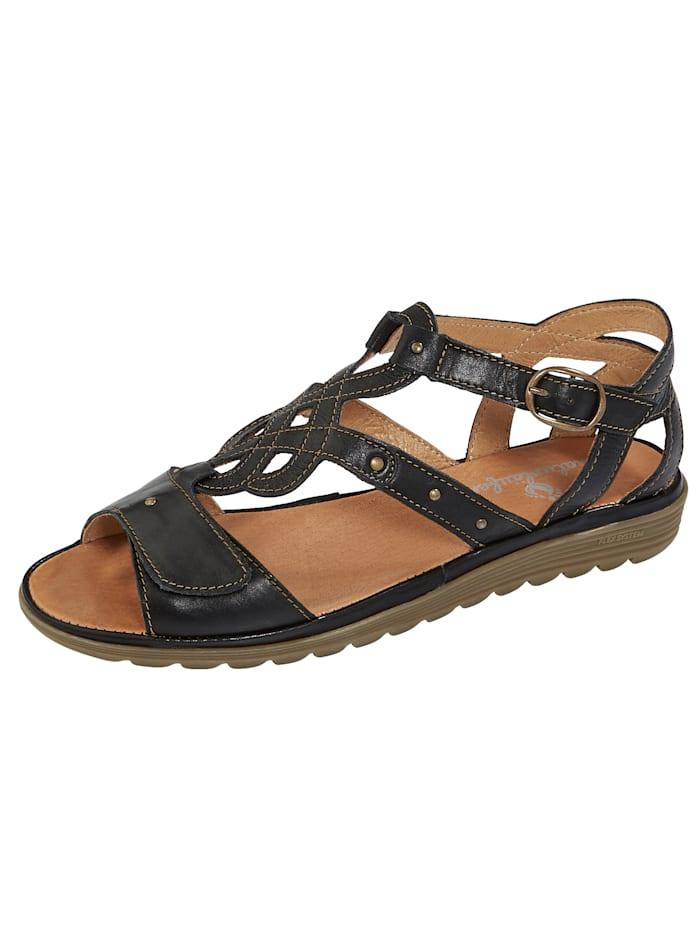 Sandaaltje Naturlaufer Zwart