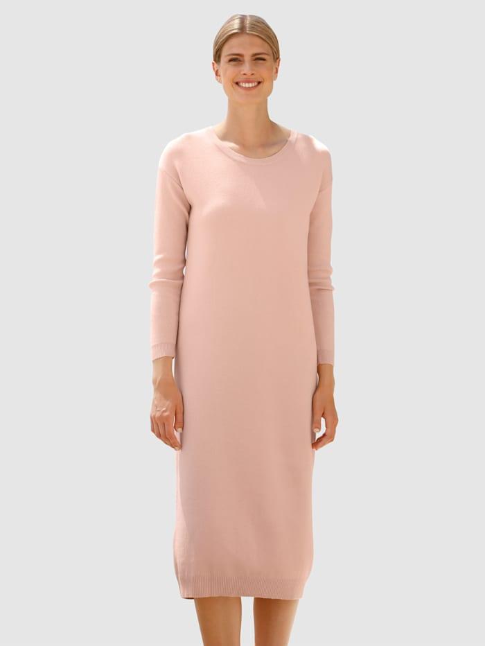 dress in - Strickkleid  Hellrosa