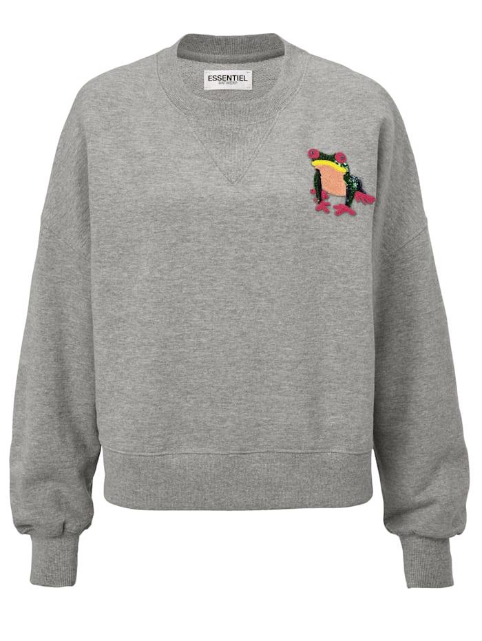 OK: Sweatshirt, Essentiel Antwerp grau Idee