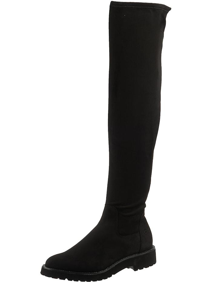bugatti - Overknee-Stiefel  schwarz