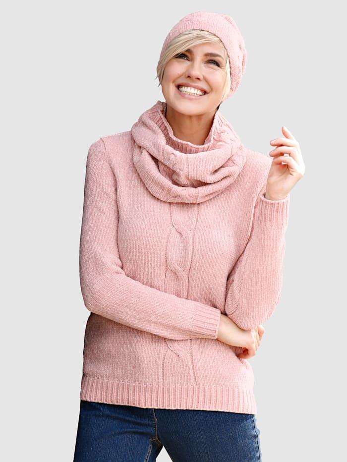 Image of 3tlg. Set Dress In Rosé