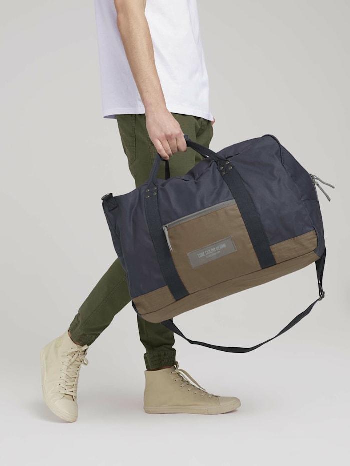 tom tailor denim - Ben Utility Reisetasche aus Nylon  dark blue