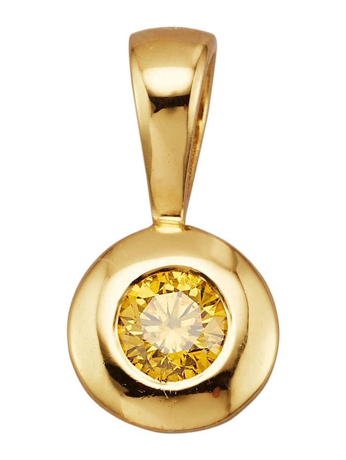 Image of Anhänger Amara Diamant Gelb