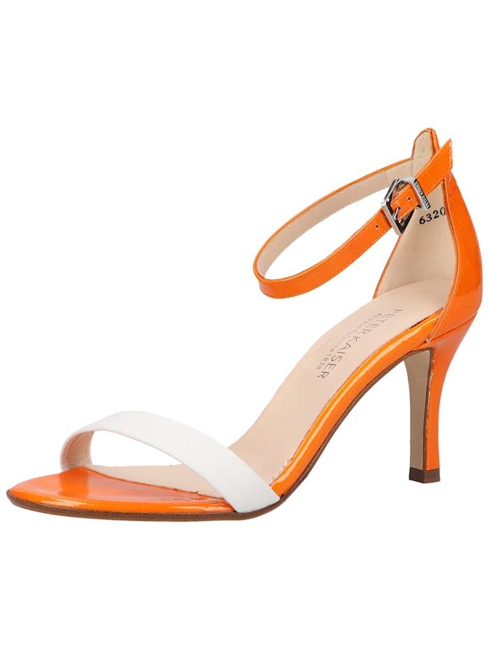 peter kaiser -  Sandalen  Weiß/Orange