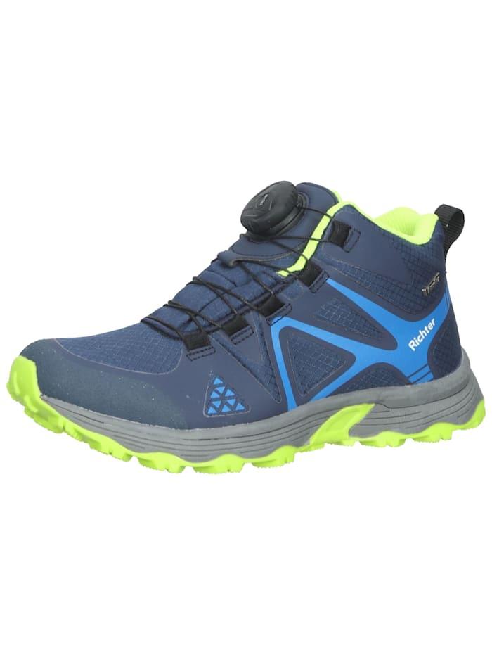 Textil Sneaker Richter Blau/Gelb