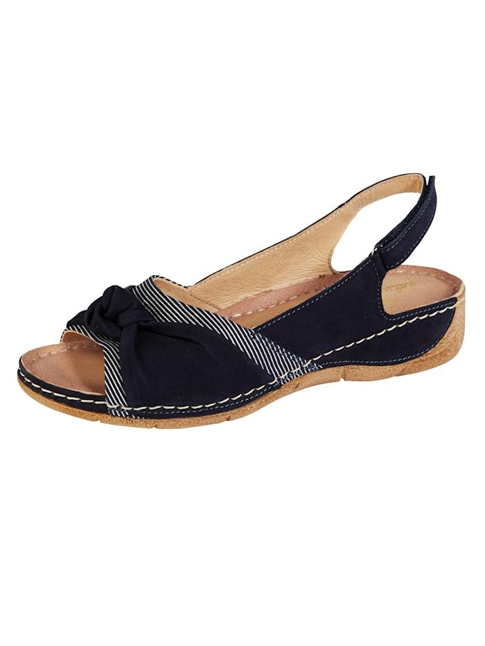 Sandaaltje Naturlaufer Donkerblauw