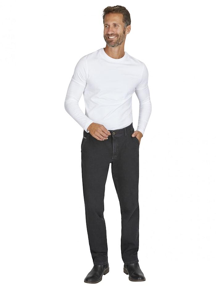 club of comfort - Jeans GARVEY 7054 mit elastischem Komfortbund  anthrazit 1